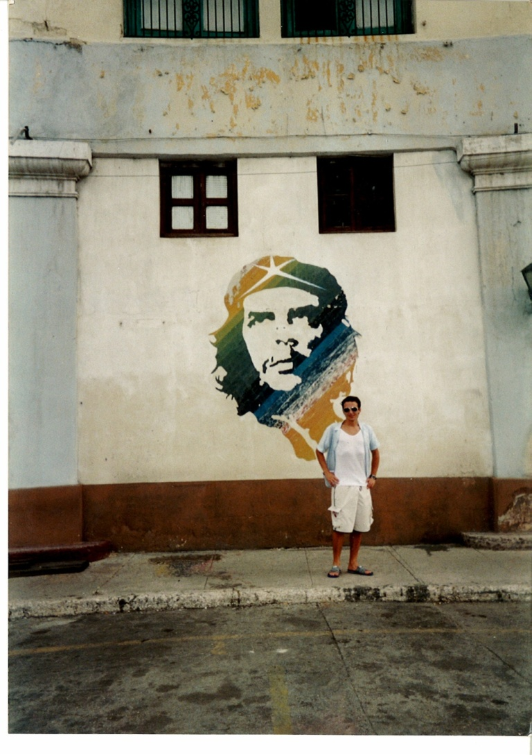 Neil Fetherston in Cuba for Hols