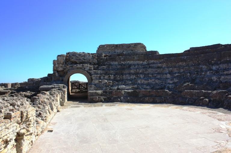 Ancient town Nora, Sardinia